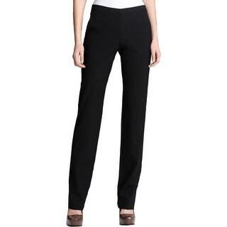 Theory Womens Rosel S Dress Pants Wool Flat Front