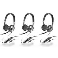 Plantronics Blackwire C720-M (3-Pack) Corded USB Headset