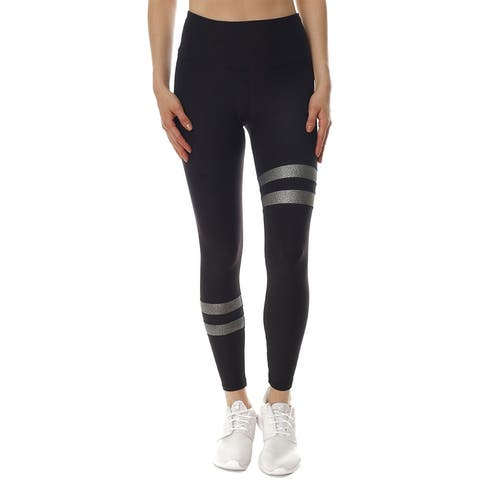 X By Gottex Metallic Stripe Legging