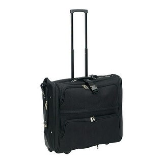 Preferred Nation 7643 Rolling Garment Bag Black - us one size (size none)