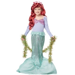 California Costumes Little Mermaid Child Costume - Purple