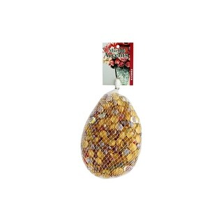 Panacea Decorative Glass Astd 42oz Golden Glaze