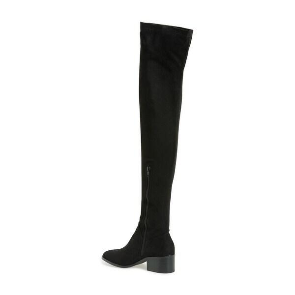 Steve Madden Womens Gabriana Closed Toe Over Knee Fashion Boots