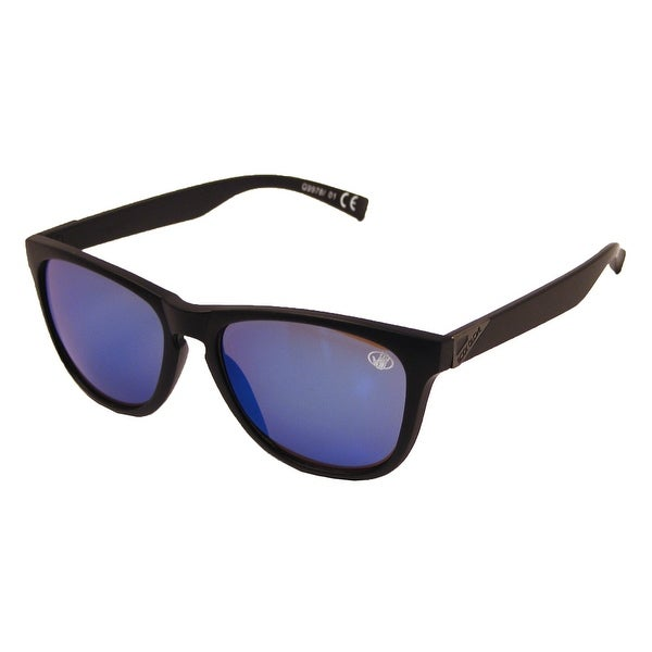 ce1baf1409e Shop Body Glove G9978 Polarized Sunglasses - Black Blue Mirror - One size -  Free Shipping On Orders Over  45 - Overstock - 23566789