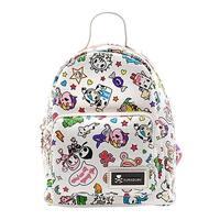 Tokidoki White Denim Daze Mini Backpack - One Size Fits most