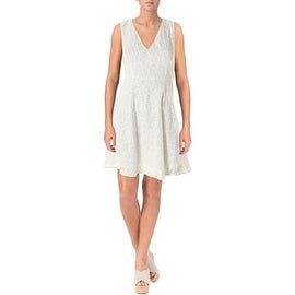 Theory Womens Textured Sleeveless Casual Dress - 00
