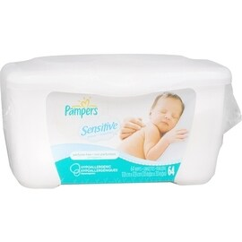 Pampers Sensitive Wipes Tub 64 Each (4 options available)