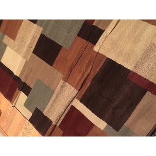 Shop Indoor Brown And Beige Area Rug Free Shipping Today