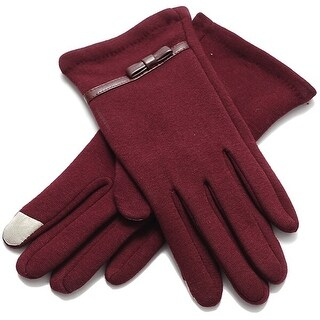 Mad Style Wine Bella Texting Gloves