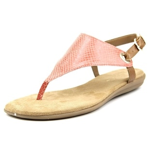 Aerosoles Conchlusion Open Toe Canvas Thong Sandal