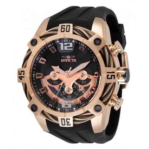 Invicta Men's 35630 'Bolt' Silicone Watch - Black