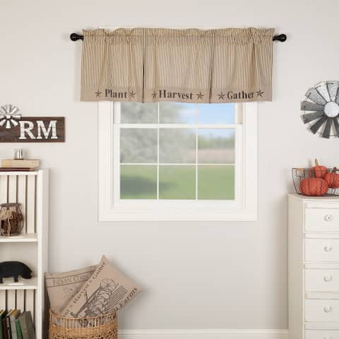 Sawyer Mill Gather Valance