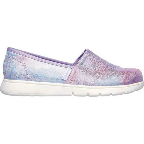 Shop Skechers Girls' Lil BOBS Pureflex Galaxy Dust Alpargata