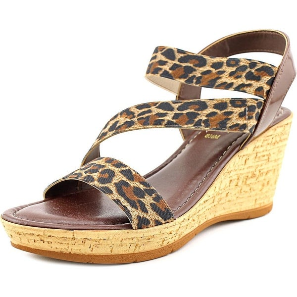 Easy Street Piceno Women Open Toe Synthetic Wedge Sandal