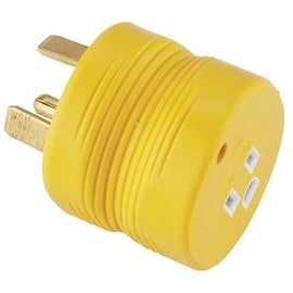 Camco 30M-15F Electric Adapter