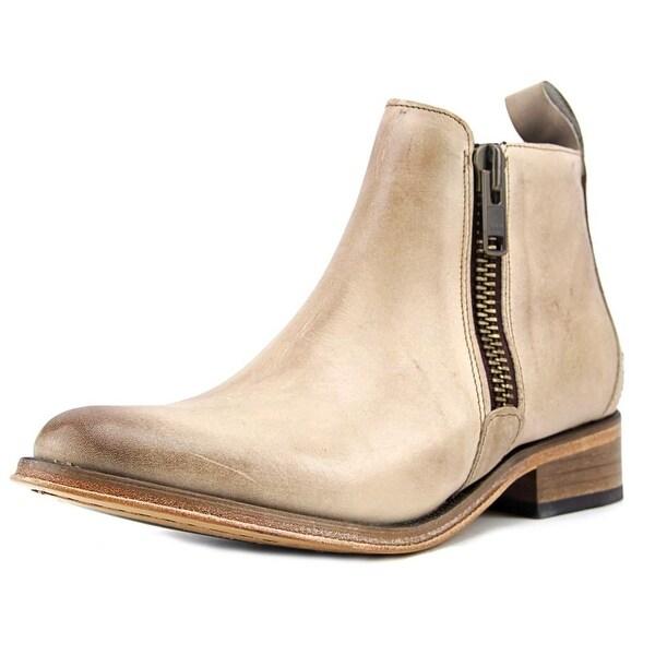 Hardy Acton 2 Women Plain Toe Leather Nude Boot