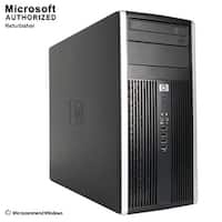 HP 6200 TW, Intel i5-2400 3.1GHz, 8G DDR3, 120GB SSD+500GB HDD, DVD, WIFI, HDMI, VGA, DP Port, BT 4.0, W10P64(EN/ES)-Refurbished