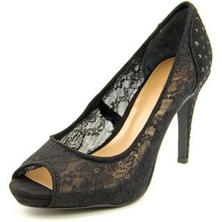 Style & Co Janie Open-Toe Canvas Heels