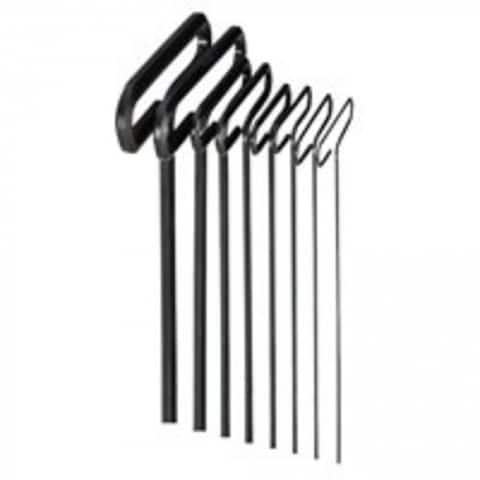 Eklind 33198 T- Handle Hex Wrench Set, 8 Piece