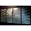 Statements2000 Modern Silver Metal Wall Art Sculpture by Jon Allen - Static - Thumbnail 2