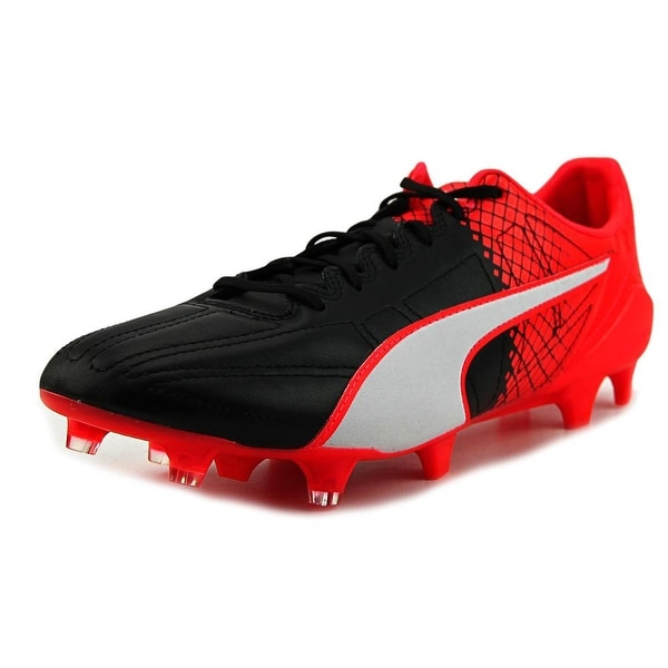 Puma Evospeed Sl Lth II Fg Men Black-White-Red Cleats