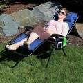 Sunnydaze Oversized Zero Gravity Lounge Chair with Pillow and Cup Holder - Thumbnail 89