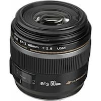 Canon EF-S 60mm f/2.8 Macro USM Lens (International Model)