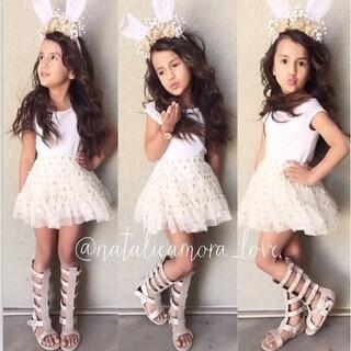 European style Summer Children short-sleeve print dress baby girls casual clothing Kids tutu dresses