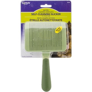 Safari Dog Self-Cleaning Slicker Brush-Large