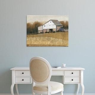 Easy Art Prints Tim OToole's 'White Barn View I' Premium Canvas Art