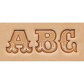 "Leather Art .75"" - Alphabet Stamp Set"