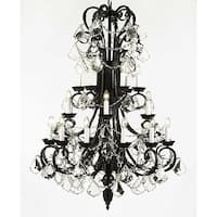 Wrought Iron With 24 Light Chandelier Lighting