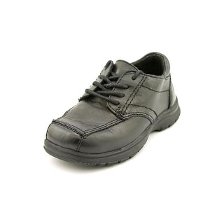Kenneth Cole Reaction Kids Blank Check 2 Square Toe Leather Oxford