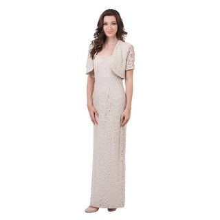 Long Lace Sheath w/ Bolero