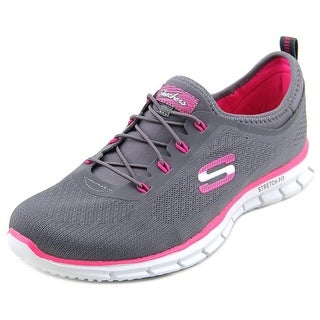 Skechers Glider-Zen Women W Round Toe Canvas Sneakers