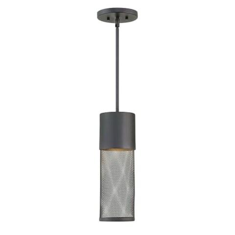 "Hinkley Lighting 2302-LED Aria Single Light 5"" Wide Integrated LED Outdoor Mini Pendant"