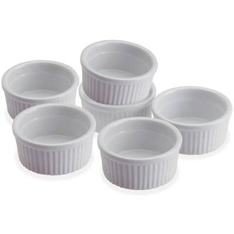 Progressive Housewares Set Of 6 Ramekins CRR6
