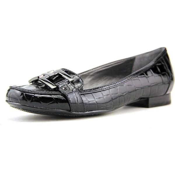 Alfani Allegra Women Round Toe Synthetic Black Loafer