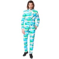 Oppo Suits Flaminguy Suit Adult Costume - Blue