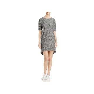 Eileen Fisher Womens Casual Dress Hi-Low Short Sleeve
