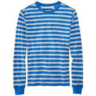 Tommy Hilfiger Weybridge Striped Crewneck Sweatshirt Nautical Blue Large L|https://ak1.ostkcdn.com/images/products/is/images/direct/df7fd012db9f39edb98b0c3da2bd235152f28970/Tommy-Hilfiger-Weybridge-Striped-Crewneck-Sweatshirt-Nautical-Blue-Large-L.jpg?impolicy=medium