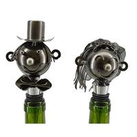 Three Star THREEZB1440 Bride and Groom Wine Stoppers
