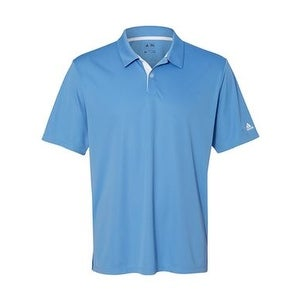 Adidas Golf Gradient 3-Stripes Sport Shirt - Lucky Blue - XL