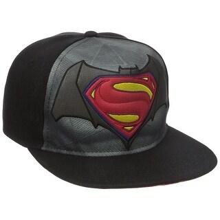 Batman vs Superman Dawn of Justice Flat Brim Baseball Cap