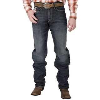 Cinch Western Denim Jeans Mens White Label Stonewash