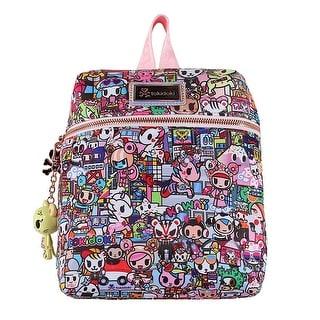 Tokidoki KAWAII METROPOLIS Small Backpack Bag , Hologram/Multi