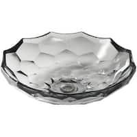 "Kohler K-2373 Artist Editions Briolette Glass 4-3/4"" x 17-1/2"" Vessel Bathroom Sink"