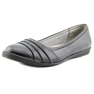 Life Stride Gawk Women Round Toe Synthetic Black Ballet Flats