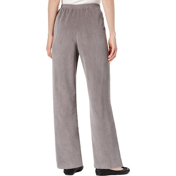 967523f0 Shop Alfred Dunner Womens Corduroy Pants Classic Fit Business - 16 ...