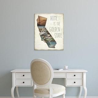 Easy Art Prints Jess Aiken's 'InstaStates I' Premium Canvas Art